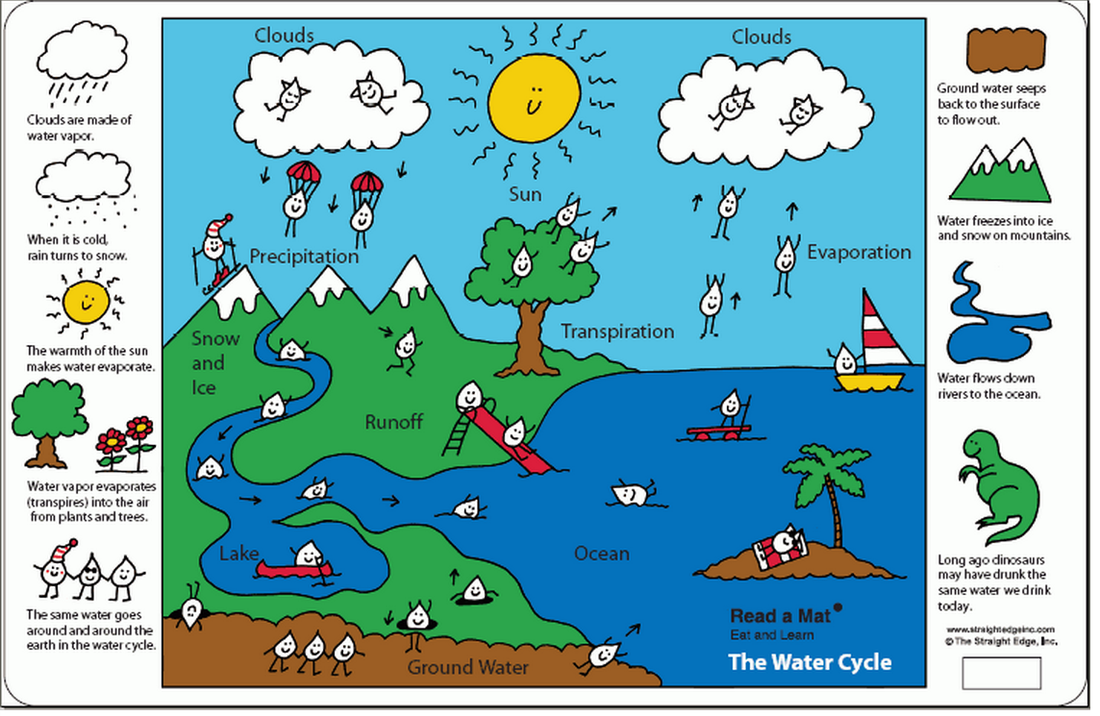 6th grade the water cycle ms sylvester 39 s science page : water cycle diagram labeled - findchart.co